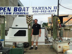Contact us tartan ii fishing for Party boat fishing ct