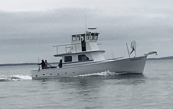 Bring your family to fish with ours tartan ii fishing for Party boat fishing ct